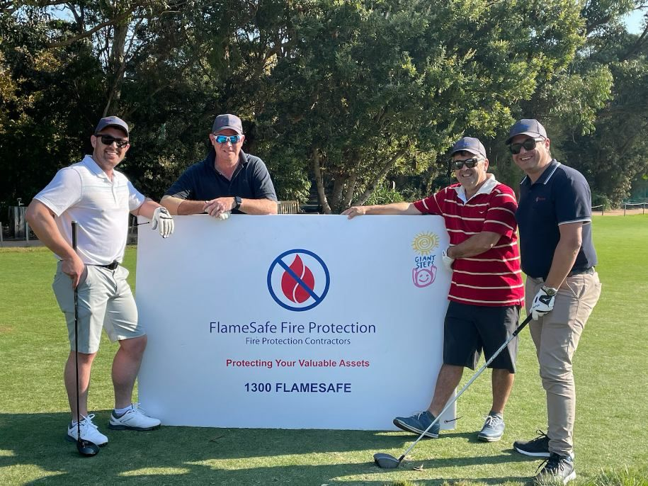 Giant Steps Charity Golf Day FlameSafe